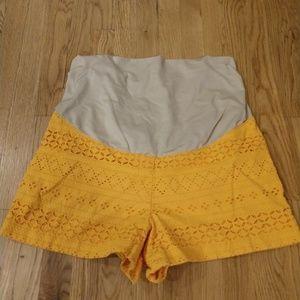 Loft maternity shorts size 16PM
